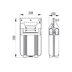 6103_301_404: Piles Lithium AAA – 1,5V Varta Professionnal.(blister de 4)