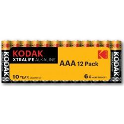 Piles alcalines LR03 - AAA  KODAK (blister de 24)