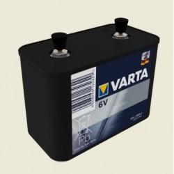 Pile Varta 4R25/2 en plastique pour projecteur