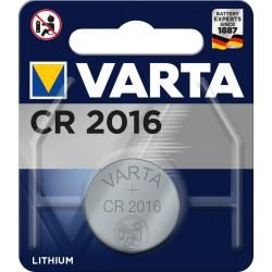 Pile électronique lithium CR2016 Varta