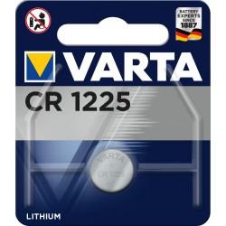 Pile électronique lithium CR1225 Varta