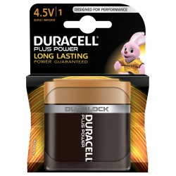 Pile alcaline 3LR12 - 4.5V Duracell plus