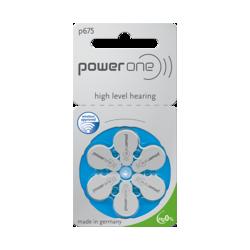6 Piles acoustiques P675 Power One