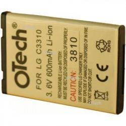 Batterie de remplacement OTECH pour LG C3310 / C3300 3.7V Li-Ion 850mAh