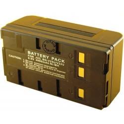 Batterie de caméscope pour type Orion / JVC BN-V25U/V22U 6 V