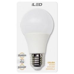 Ampoules LED standard E27 9W en blister - HIDALGO'S