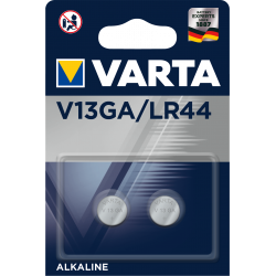 2 Piles électronique alcaline 1,5V LR44 - V13GA Varta