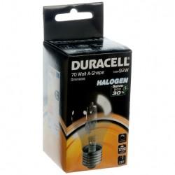 Ampoule halogène 70W E27 1200 Lumens - DURACELL