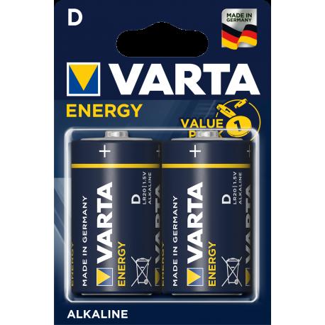 Blister de 10 piles alcalines LR03 - AAA – 1,5V Maxell