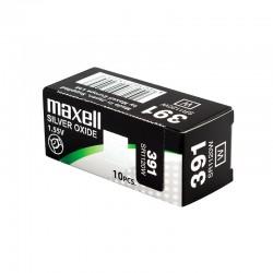 Pile électronique alcaline 1,5V LR44 - Maxell (blister de 2)