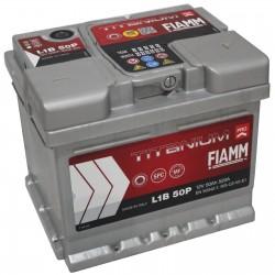 Batterie de démarrage - FIAMM TITANIUM PRO - L1B 50 Ah