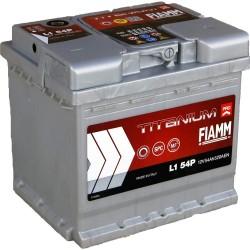 Batterie de démarrage - FIAMM TITANIUM PRO - L1 54 Ah