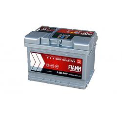 Batterie de démarrage - FIAMM TITANIUM PRO - L2B 60 Ah