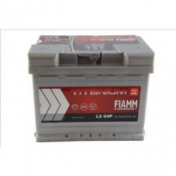 Batterie de démarrage - FIAMM TITANIUM PRO - L2 64 Ah