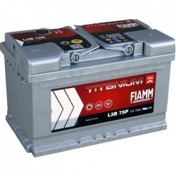 Batterie de démarrage - FIAMM TITANIUM PRO - L3B 75 Ah