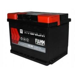 Batterie de démarrage - FIAMM TITANIUM BLACK - L2 60Ah