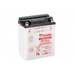 Batterie moto YUASA  YB12A-A
