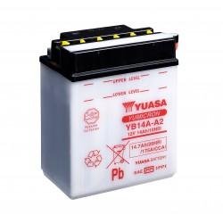 Batterie moto YUASA  YB14L-A2
