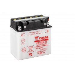 Batterie moto YUASA  YB16CL-B
