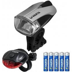 LED BIKE LIGHT SET-PACK DE 2 LAMPES VELO