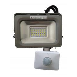 OPTONICA SPOT LED 10 W + DETECTEUR 6000° IP65