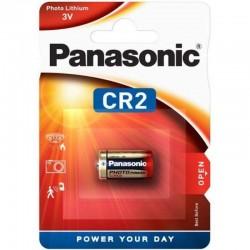 1 Pile Lithium photo CR2 PANASONIC en blister
