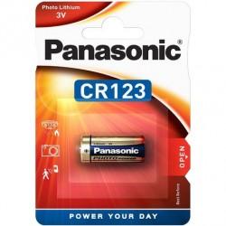 1 Pile PANASONIC CR123 en  Blister