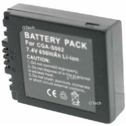 Batterie de remplacement pour DMW-BM7/ S002 Dark Grey 7.2V L6/7