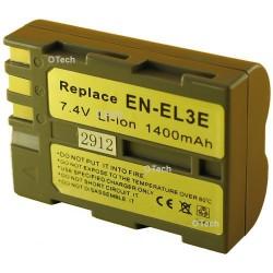 Batterie de remplacement pour EN-EL3E 7.4V L14