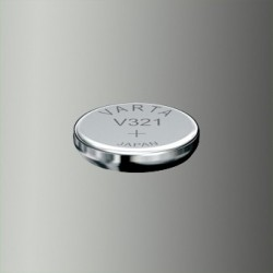 Pile de montre Varta V321, SR65, SR616SW
