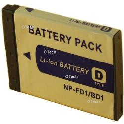 Batterie de remplacement pour NP-FD1 / BD1 3.7V L6/8
